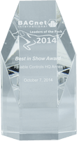 BACnet International 2014 Leaders of the Pack Awards Best in Show Award
