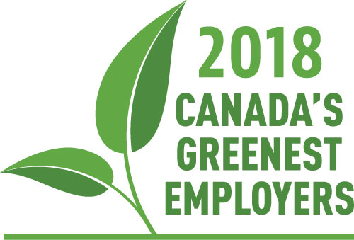 Canada's Greenest Employer 2018