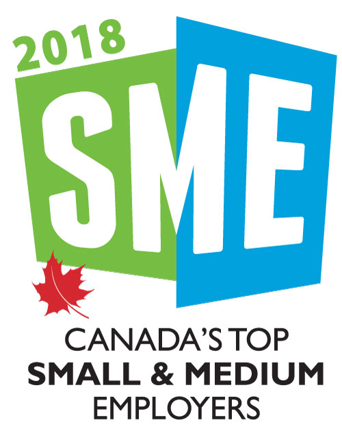 Canada's Top Small & Medium Employer 2018