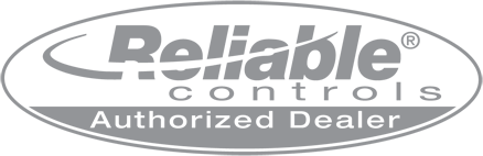 Reliable Controls Authorized Dealer Plaque