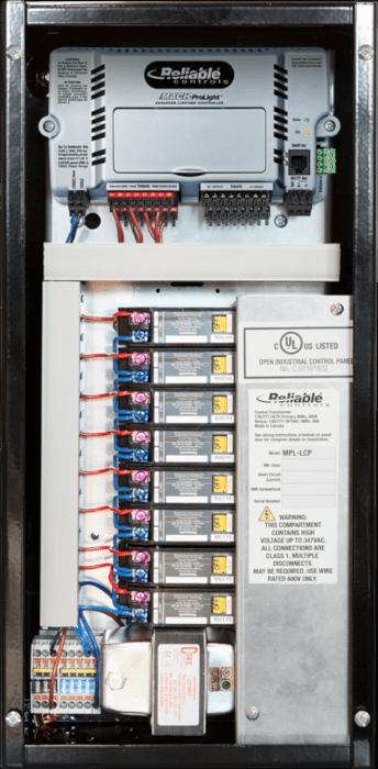 Small Lighting Control Panel LCP-23X47-8R